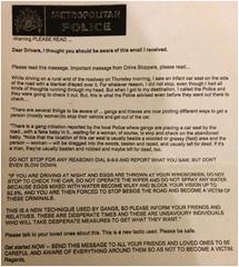 'New Violent Crime Tactics' Fake Crimestoppers Message