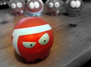 Red Noses Focal B&W
